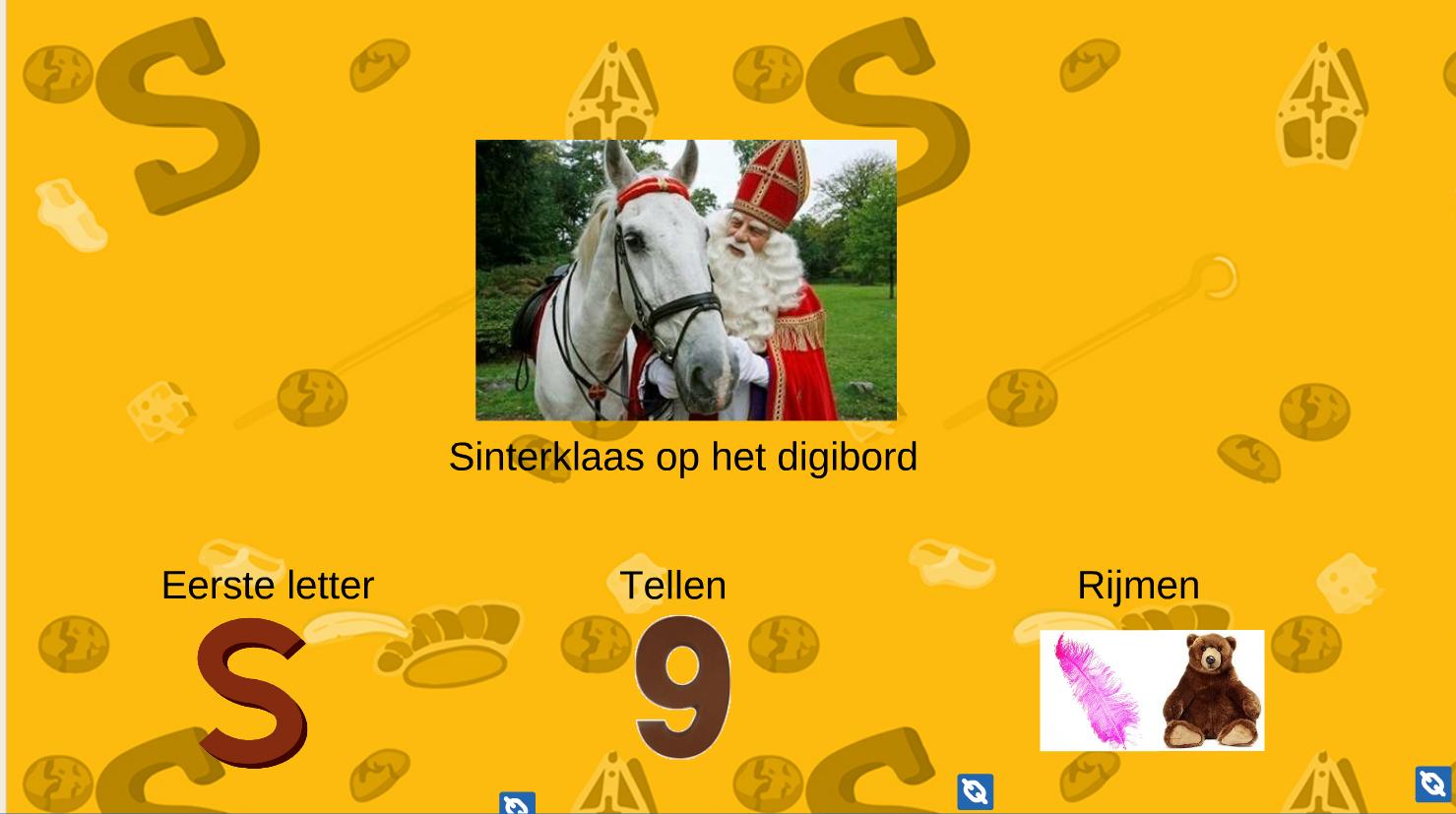 Sinterklaas digibordles voor kleuters