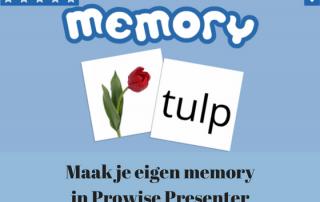 Maak je eigen memory met Prowise Presenter