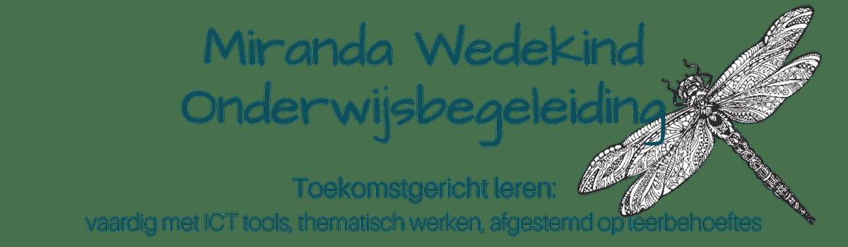 Miranda Wedekind Onderwijsbegeleiding Logo
