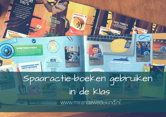 Spaaractie-boeken gebruiken in de klas