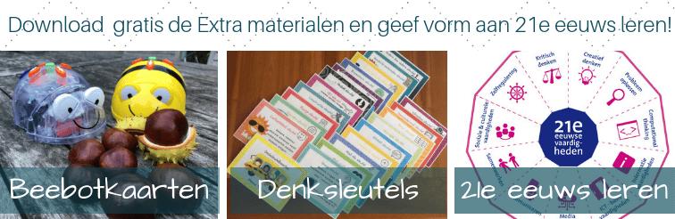 Download gratis de Extra materialen en geef vorm aan 21e eeuws leren!