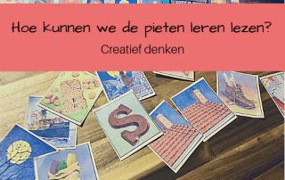Creatief denken: Hoe leren we de pieten lezen met de pietenplaatjes?