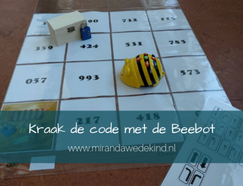 Kraak de code met de Beebot