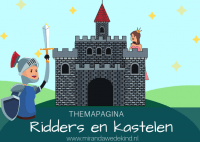 Themapagina Ridders en kastelen
