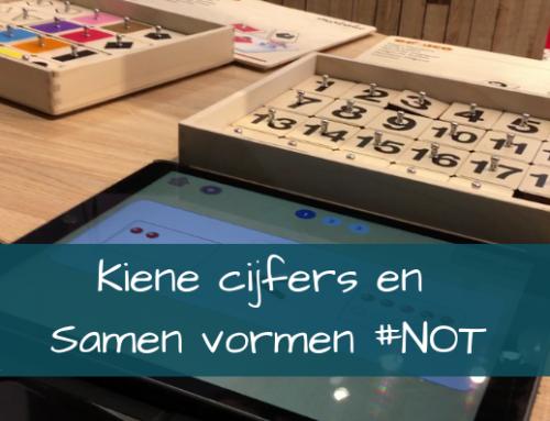 Kiene cijfers en Samen vormen ~Stempelen op je tablet #NOT