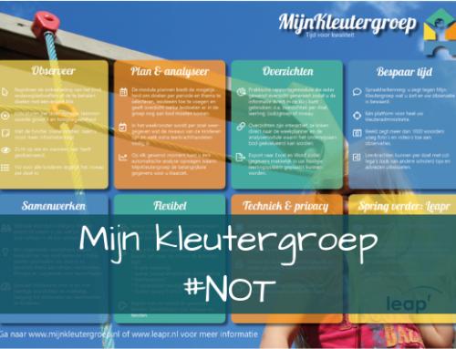 Mijn kleutergroep ~een observatie- en planningssysteem #NOT