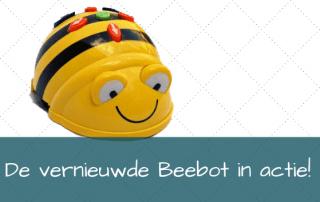 De vernieuwde Beebot in actie!