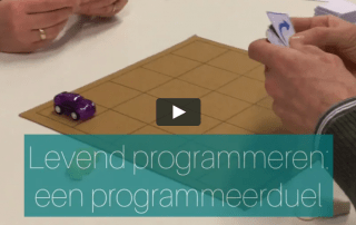 Levend programmeren: een programmeerduel