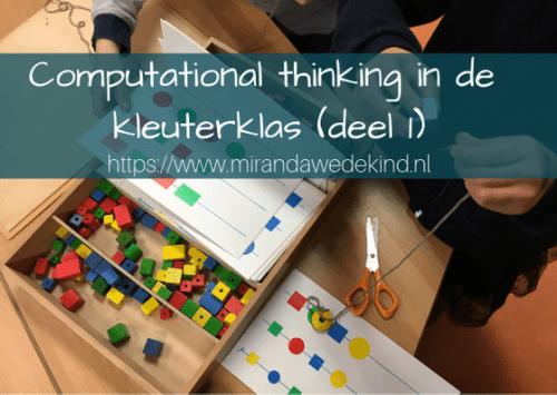 Wat is Computational thinking?