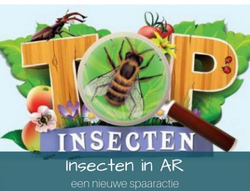 Insecten in augmented reality ~een nieuwe spaaractie