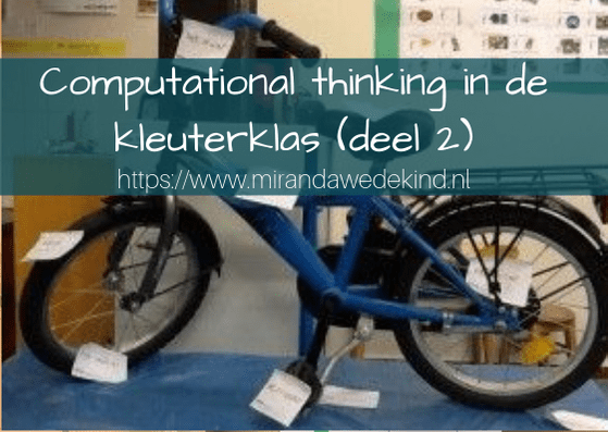 Wat is computational thinking ~deel 2