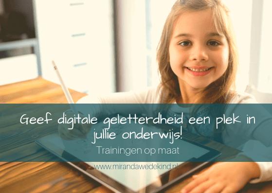 Studiedag: Geef nieuwe curriculum digitale geletterdheid een plek
