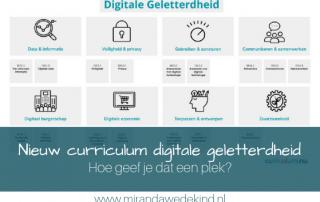 Een nieuw curriculum digitale geletterdheid. Hoe geef je dat een plek in je onderwijs?