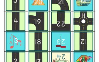 Ganzenbord spelen met de Beebot