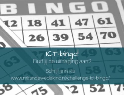 Een nieuwe challenge: ICT-bingo! Doe je mee?