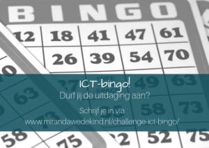 Challenge: ICT-bingo