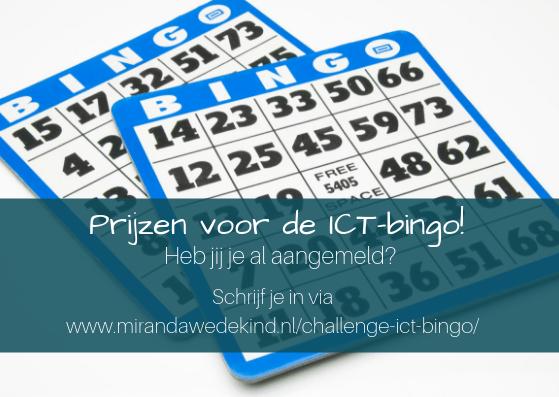 Prijzen voor de ICT-bingo~ kijk de video's!