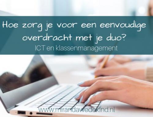 ICT en klassenmanagement: Hoe zorg je voor een eenvoudige overdracht met je duo?