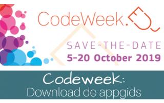 Appgids voor de codeweek