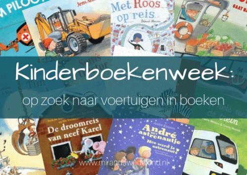 Kinderboekenweek: op zoek naar voertuigen in boeken