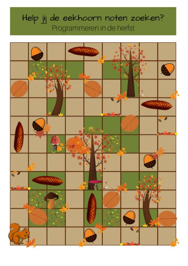 Programmeerspel herfst