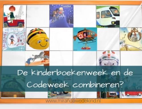 De kinderboekenweek en de Codeweek combineren?