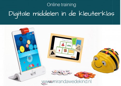 Online training Digitale middelen in de kleuterklas