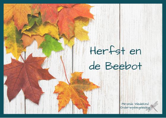 Herfst met de Beebot!