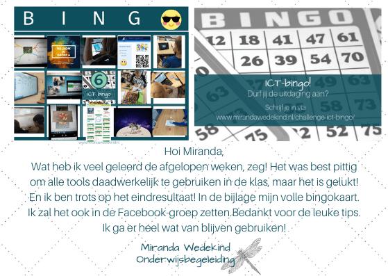 Webinar Tools van de ICT-bingo | In een sint-jasje