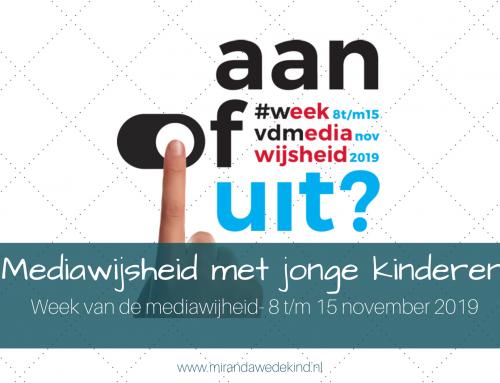 Mediawijsheid met jonge kinderen | Week van de mediawijsheid- 8 t/m 15 november