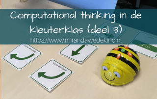 Wat is computational thinking ~deel 3