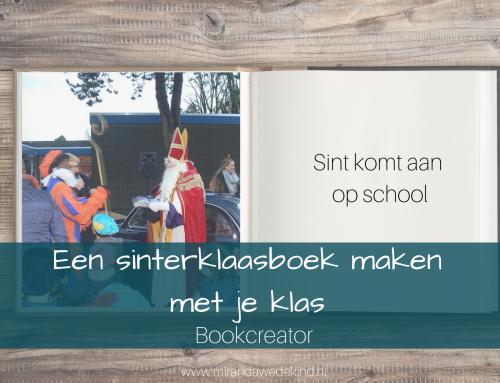 Een sinterklaasboek maken met je klas | Bookcreator