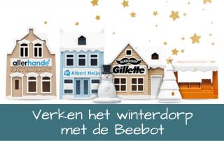 Verken het winterdorp met de Beebot