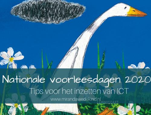 Nationele voorleesdagen 2020: tips voor het inzetten van ICT