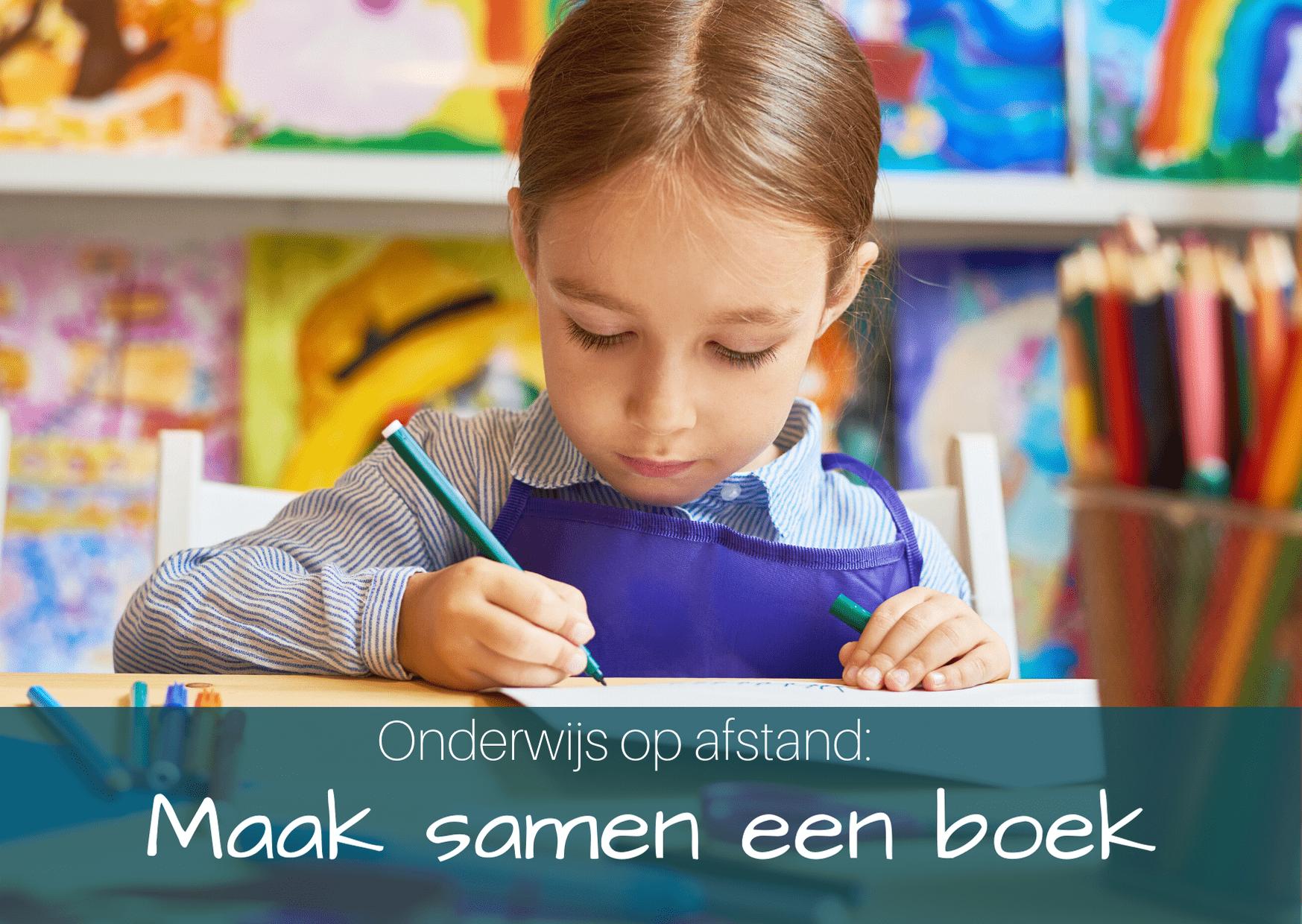 Onderwijs op afstand: maak samen een digitaal boek