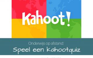 Onderwijs op afstand: Speel een kahootquiz