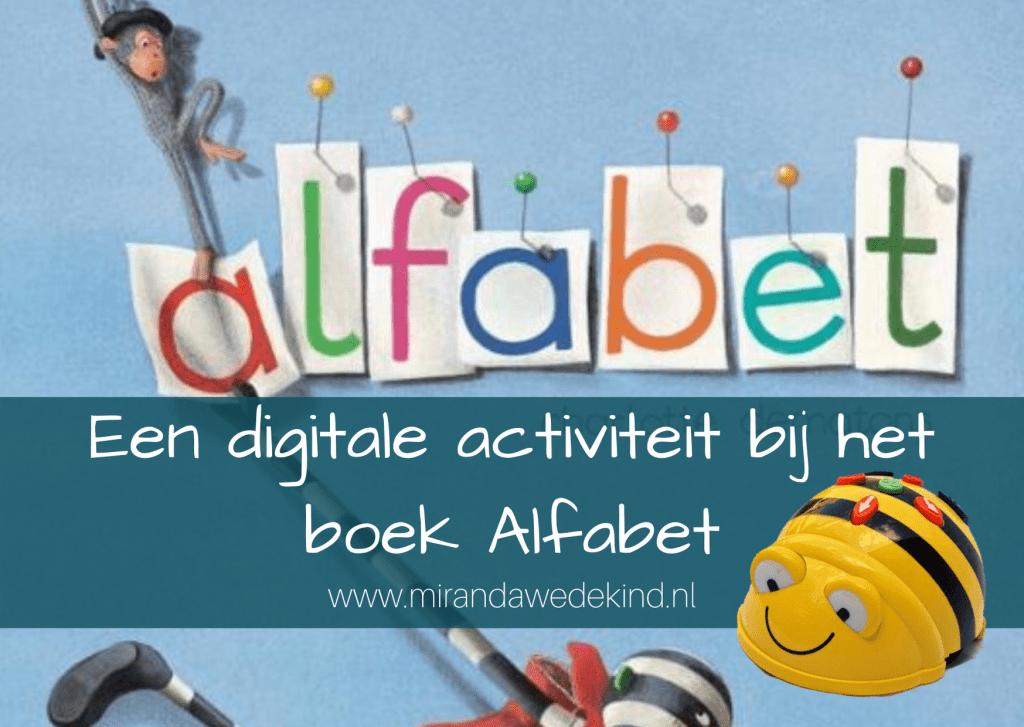 Een digitale activiteit bij het boek Alfabet- de Beebot