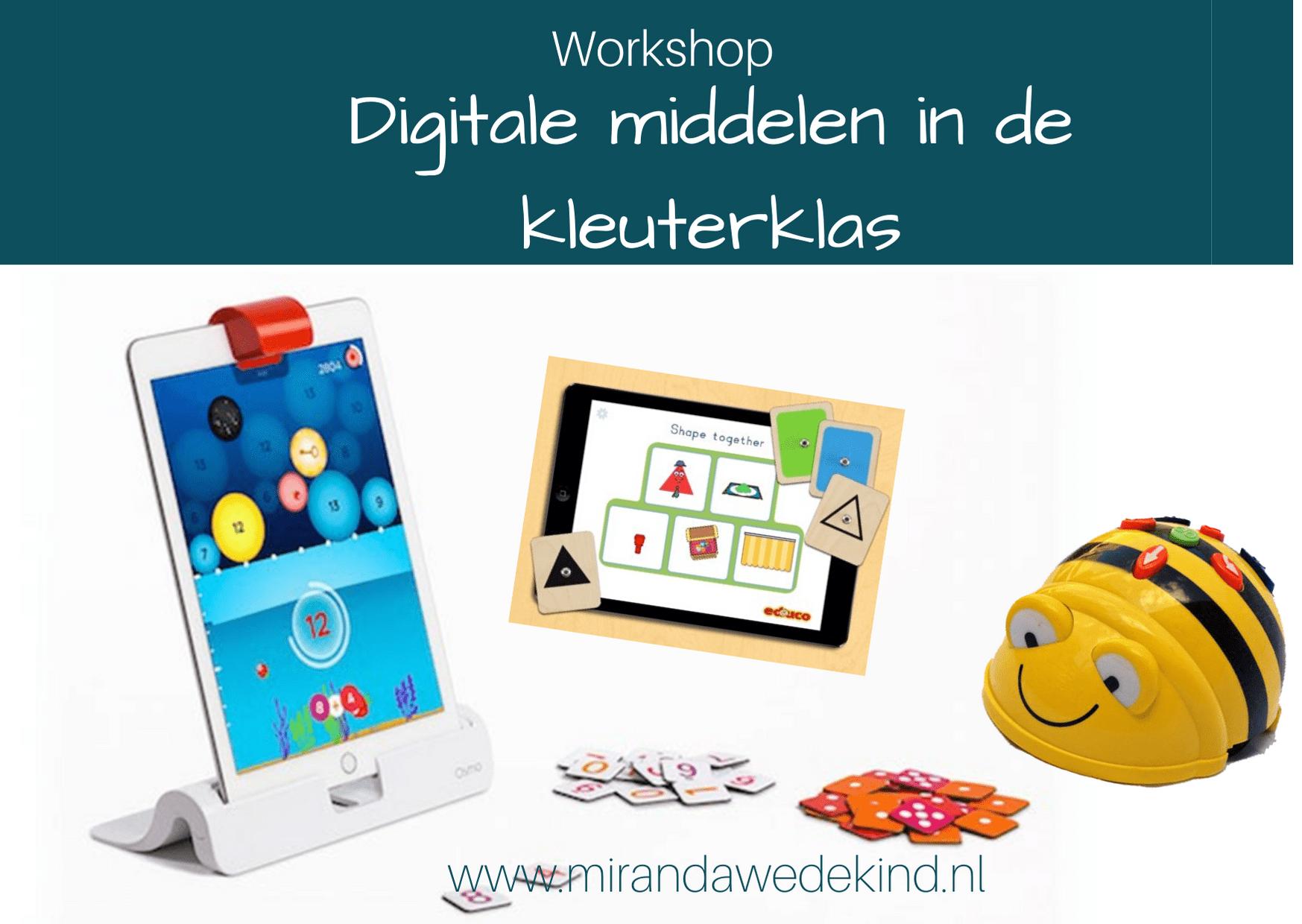 Workshop Digitale middelen in de kleuterklas