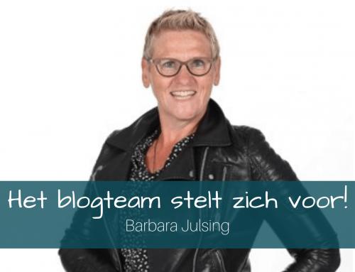 Het Blogteam stelt zich voor: Barbara Julsing