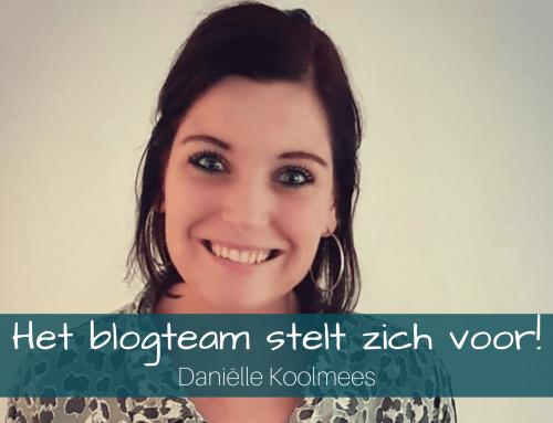 Het blogteam stelt zich voor – Daniëlle Koolmees