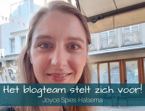 Het blogteam stelt zich voor: Joyce Spies