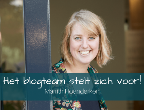 Het blogteam stelt zich voor: Marrith Hoenderken