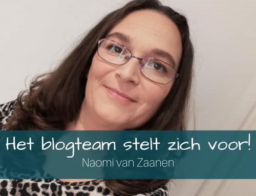 Het blogteam stelt zich voor: Naomi van Zaanen
