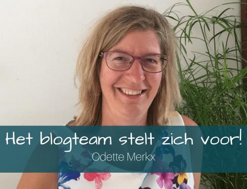 Het blogteam stelt zich voor: Odette Merkx
