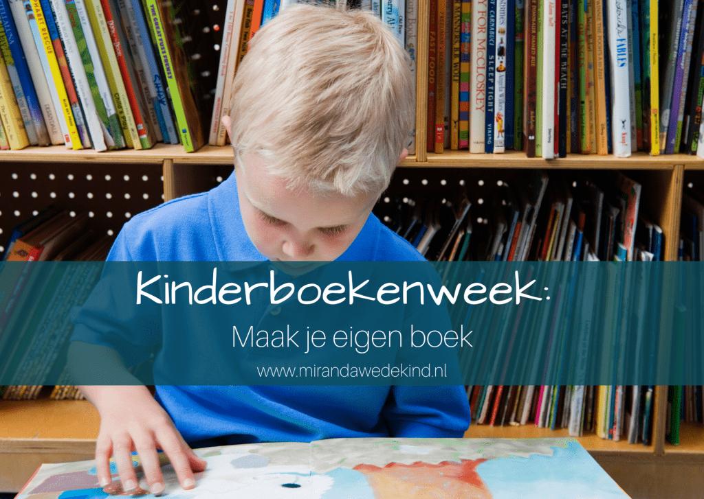Kinderboekenweek: Maak je eigen boek
