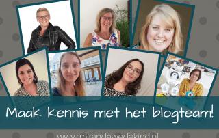 Tadaaaaa....! Het blogteam van Miranda Wedekind Onderwijsbegeleiding