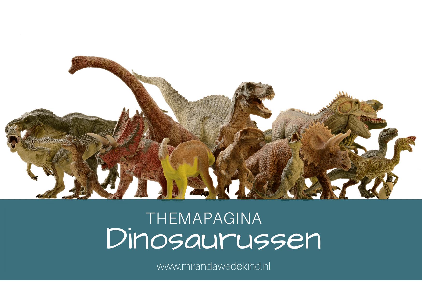 Themapagina Dino's- KBW 2020