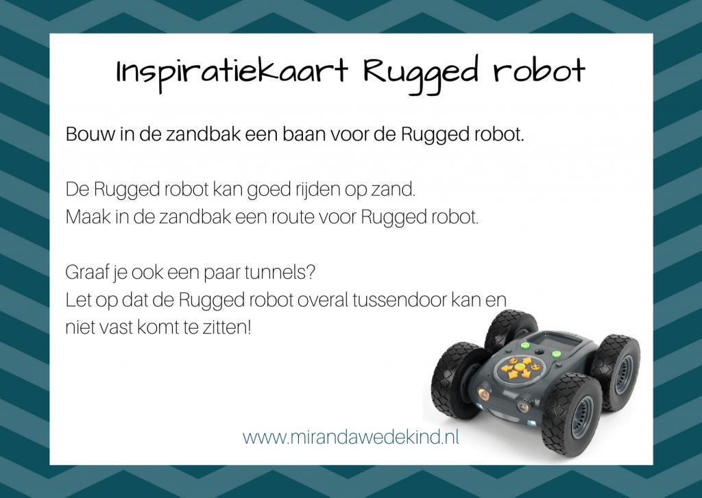 Een nieuwe robot: de Rugged robot!