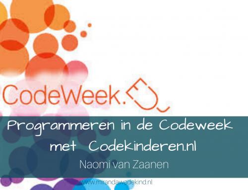 Programmeren in de Codeweek met Codekinderen.nl