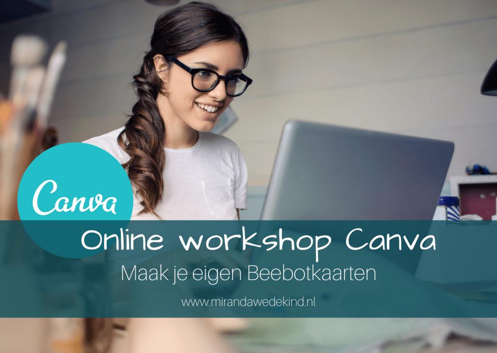 Online workshop Canva: Maak je eigen Beebotkaarten
